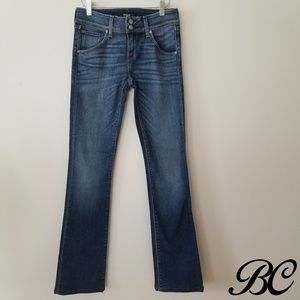 Hudson Jeans Baby Beth Bootcut Med Wash Pre-faded